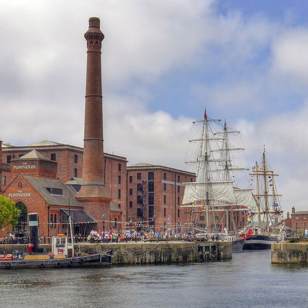 Albert Docks Liverpool klein
