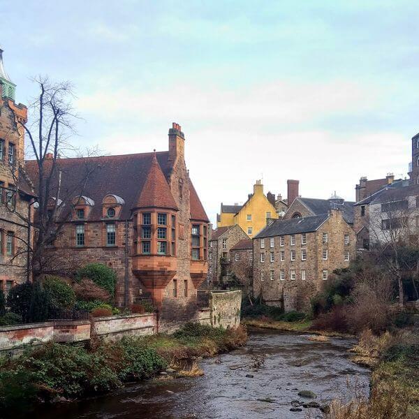 Edinburgh-rivier stad