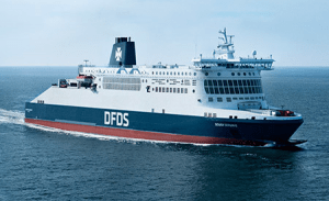 Boot Duinkerken Dover DFDS