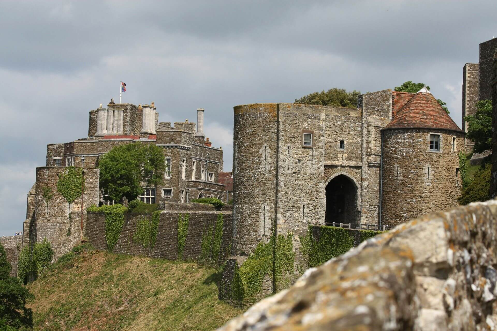 Kasteel in Dover