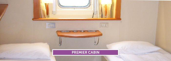 Premier kamer aan boord