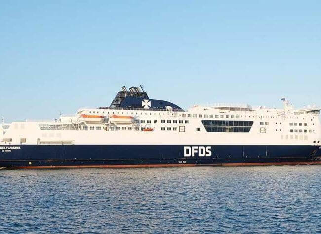 Boot van Calais naar Dover