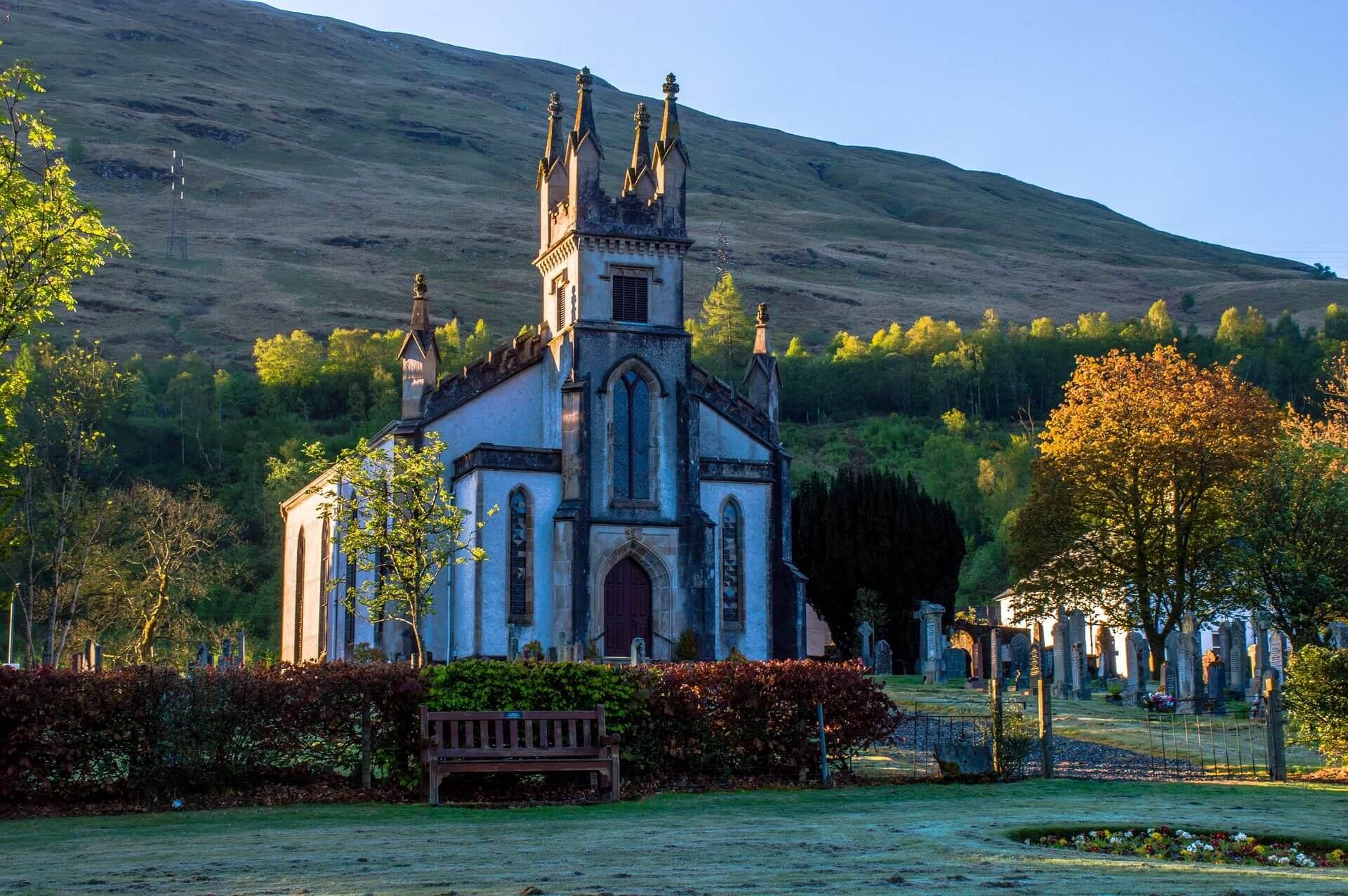 kerk in schotland